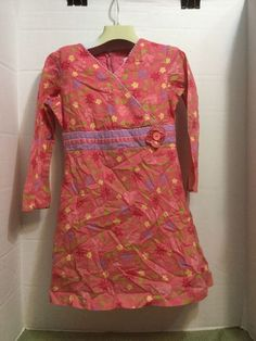 Dresses Size 4 Euc Barbie Pink Spot Sundress Dress With Full Skirt Kids' Clothing, Shoes & Accs