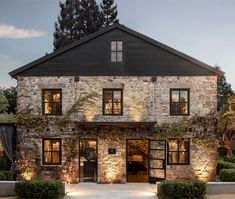 Restoration Hardware's Napa Valley Compound Is Its Most Luxe Design Yet - Exterior Design Modern Farmhouse, Farmhouse Style, Future House, My House, Living Haus, Stone Houses, Napa Valley, My Dream Home, Dream Homes