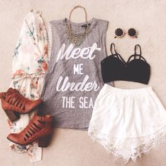 Under the sea #OOTD #SummerFoerver #F21xMe