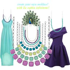 Build your own necklace with Infinitme by Lia Sophia Jewelry.  GORGEOUS! www.liasophia.com/monicawood