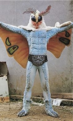 sometimes i just want to turn into a mothman and just fly to your bedroom in a way Z wouldnt bite me so that you can catch me and hold me till you drop me out ,but im not a mothman and I cant Fly Japanese Monster, Mothman, Totems, Weird And Wonderful, Retro, Graphic, Art Inspo, Illustration, Creepy