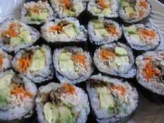 how to make futomaki sushi