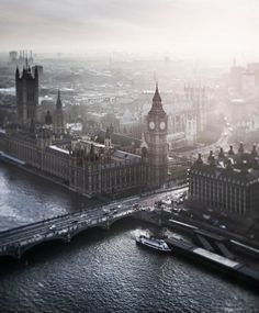 Bird's eye view of London: the city where all literature seems to breathe