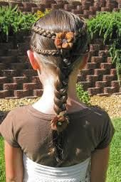 Renaissance Braids @ Princess Piggies - Arianna would look real good with this done for her hair Princess Hairstyles, Little Girl Hairstyles, Pretty Hairstyles, Updo Hairstyle, Prom Hairstyles, Renaissance Hairstyles, Braided Hairstyles For Wedding, Fantasy Hair, Toddler Hair