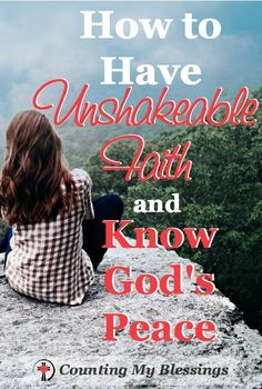Christian Quotes:God allowed life to shake me up a little so I'd be desperate for unshakeable faith. This is what I've learned. Walk By Faith, Faith In God, Christian Faith, Christian Quotes, Christian Living, Scripture Study, Bible Verses, Bible Quotes, Scriptures