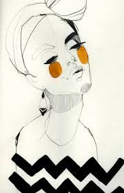 unusual fashion illustration - Google Search
