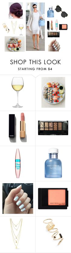 """Sushi for lunch"" by georgia-karella ❤ liked on Polyvore featuring Nordstrom, Kerr®, Chanel, Boohoo, Maybelline, Dolce&Gabbana, BP. and Fendi"