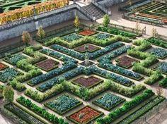 Villandry vegetable gardens