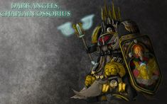 Dark Angels, Chaplain Ossorius by Shamblin85.deviantart.com on @DeviantArt