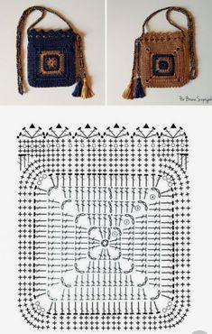 Burgundy crochet purse, Everyday essentials bag, Marsala Crossbody Knit handbag, Handmade gift for women Crochet Stitches Patterns, Crochet Chart, Diy Crochet, Crochet Designs, Crochet Doilies, Crochet Granny, Crochet Clutch, Crochet Handbags, Crochet Purses
