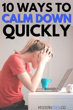 Sometimes life gets us stressed, angry, or anxious. Use these 10 ways to calm down quickly in any situation and become relaxed instantly! When you're calm, College Stress, College Hacks, High School Students, College Students, School Grades, School Looks, Ways To Relax, Calm Down, Stress And Anxiety