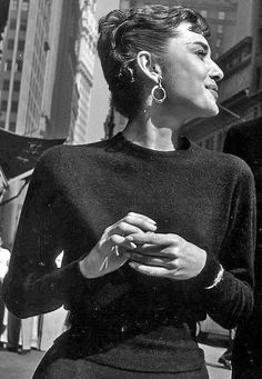 Audrey Hepburn, forever fashion icon.