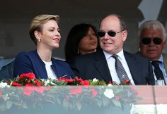 Love match for Prince Albert and Princess Charlene at the tennis - Photo 2