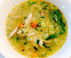 Recipe CHICKEN NOODLE SOUP by Thermomistress, learn to make this recipe easily in your kitchen machine and discover other Thermomix recipes in Soups. Vegetable Noodle Soup, Vegetable Soup With Chicken, Chicken Noodle Soup, Chicken And Vegetables, Soup Recipes, Chicken Recipes, Dinner Recipes, Cooking Recipes, Healthy Recipes