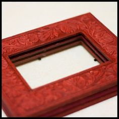 Craftastical!: Tutorial: Shadow Box from Regular Frames