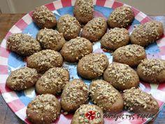 Ονειρεμένα μελομακάρονα Greek Desserts, Muffin, Xmas, Sweets, Cookies, Chocolate, Baking, Breakfast, Recipes