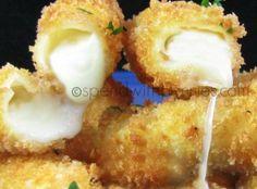 Gooey Cheese Sticks