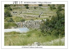 #Mycenae #archaeology #foundations #village Click to ENLARGE