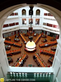 State Library Victoria #CaptureTheCover entry - by Alisha in Melbourne's Inner City Northern Region. Click to enter your photos!