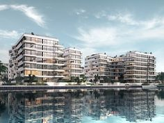 Image 1 of 8 from gallery of GRAFT Designs WAVE, a Green Oasis Along the Berlin…