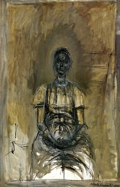 Alberto Giacometti Portrait of Caroline OIL Alberto Giacometti, Giacometti Paintings, Figure Painting, Painting & Drawing, Contemporary Artists, Modern Art, Art Moderne, Cubism, Life Drawing