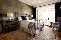 Gray Bedroom | Porch