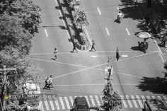 Pedestrians by Raul Sanchez