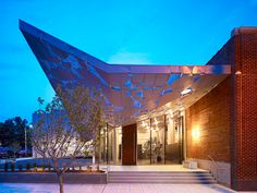 """Contemporary Art Museum Raleigh' by Brooks + Scarpa, Raleigh, North Carolina, USA"