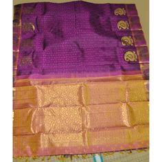 Kanchipuram Pure Silk Saree (KNC-VKM-004)