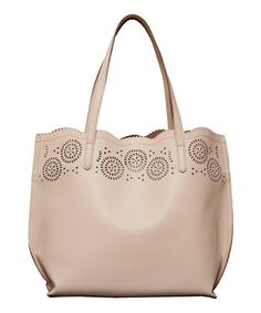 Another great find on #zulily! Sand Lily Cutout Tote & Pouch by Elise Hope #zulilyfinds
