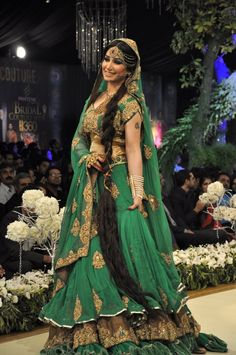 Indian wedding fashion show