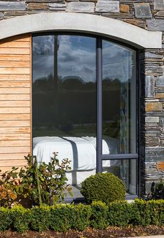 New Build In County Armagh Bungalow House Design, Modern Bungalow, House Layout Plans, House Layouts, Cottage House Plans, Cottage Homes, House Designs Ireland, Armagh, Modern Farmhouse Exterior