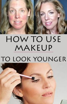 Makeup tricks to look young and beautiful.