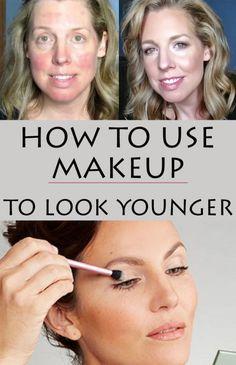 Makeup tricks to look young and beautiful.