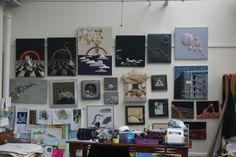 studio- krystyna Komar textiles artist