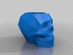 Skull PenHolder V2 by Rat84 - Thingiverse