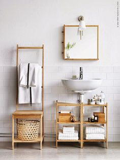 Trendesso: Inspirations for bathroom by IKEA