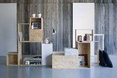 STAPELZOT | OSB modules | totaalinrichting | interieur | stapelen | Bart Debeuf | Sarah Livemont