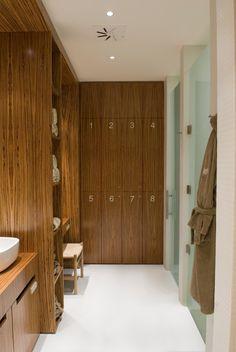CJC Interior Design | City Spa | Locker Rooms |Wood | Light | Minimalist | Lisbon