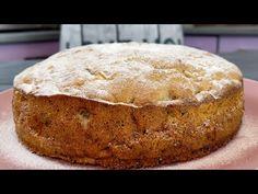 Απλώς ερωτεύτηκα αυτό το κέικ! Μήλα και καρύδια - γρήγορο και νόστιμο! - YouTube Apple Recipes, Sweet Recipes, Cake Recipes, Dessert Recipes, Butter Pecan Cake, German Baking, Walnut Cake, Cheesecake Cake, Sweet Bread