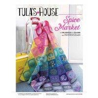 Spice Market quilt pattern for Tula Pink | InterweaveStore.com
