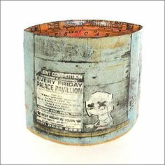 annabel faraday illustrated stoneware ceramics created by printing maps and images onto raw clay
