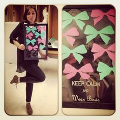 Keep Calm And Wear Bows! #MySlogan #love #Bows