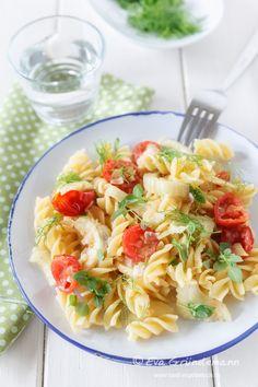 Pasta mit Fenchel und Tomaten | food-vegetarisch.de