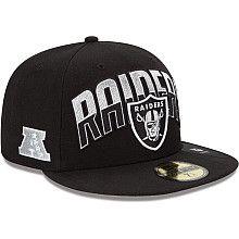 Oakland Raiders 2013 New Era Draft Hat