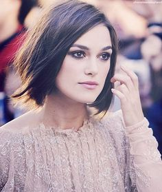 Keira Knightley's hair looks so perfect here