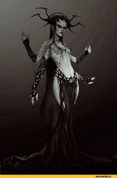 The Elder Scrolls,фэндомы,TES art,Mephala,Мефала,Лорды Даэдра,TES Персонажи