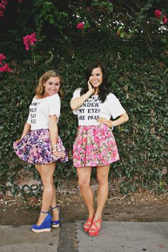 A graphic tee goes with EVERYONES style :) We have great ideas on accessorizing and styling all of your fave tees