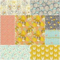 Love the colors, would make a gorgeous baby quilt..