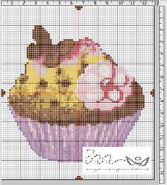 Ange's Blog: Grille gratuite...Cupcake papillon en chocolat!